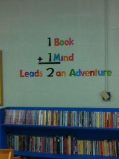 back to school library bulletin board ideas - Google Search