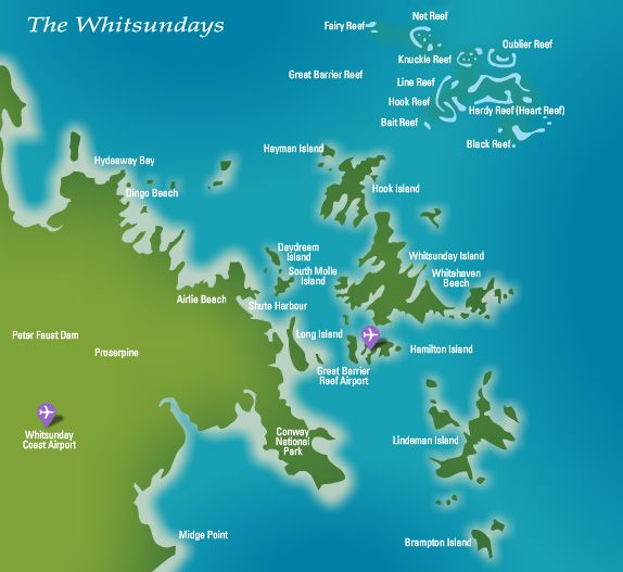 whitsundays how to get there