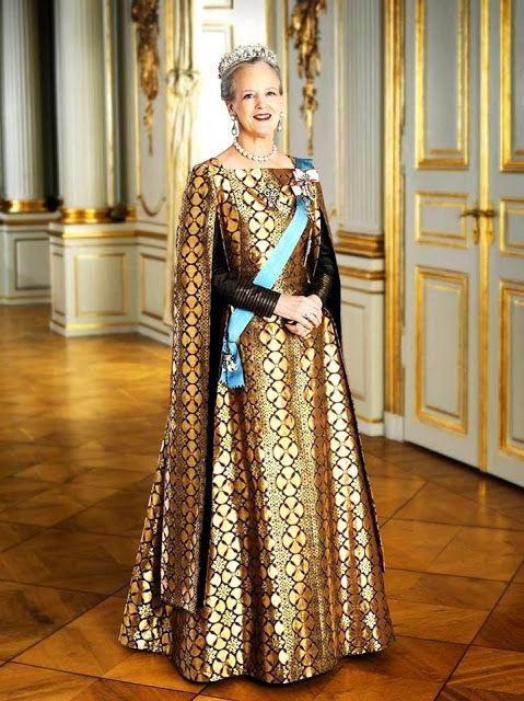 H.M. Queen Margrethe II of Denmark