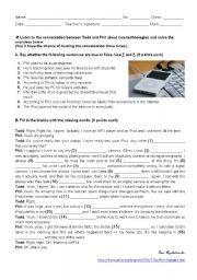 English worksheet: gadgets - listening test