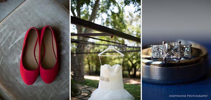 Bridal shoes wedding dress and diamonds.. A girls best friend