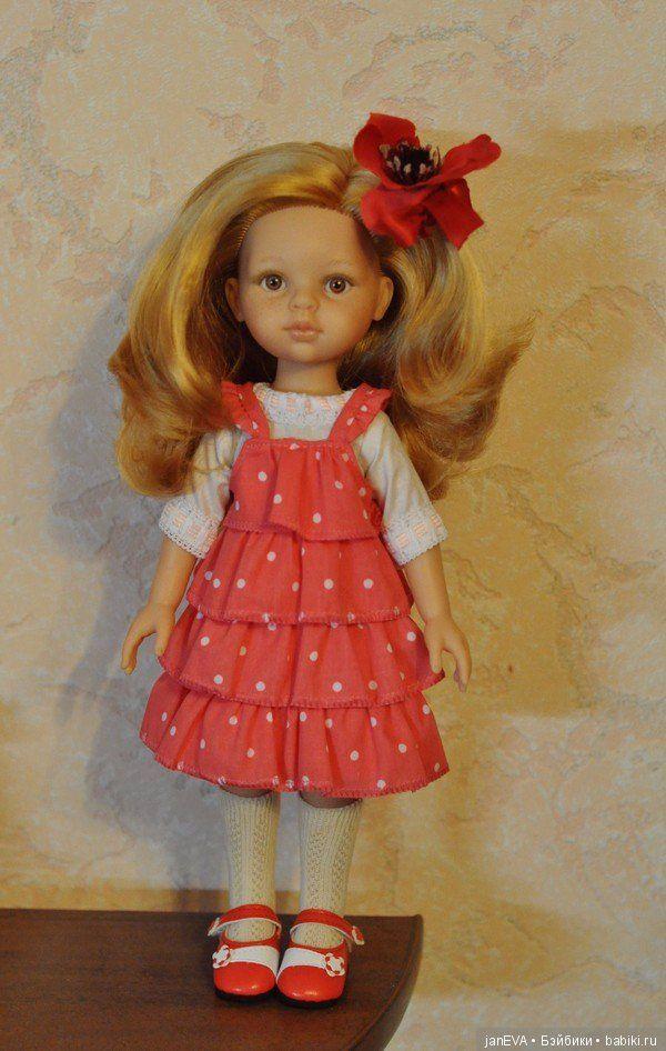 у Даши золотисто-медовые волосы, густющие волосы, нежные веснушки куколка на новом теле в аутфите от другой куклы-аутфит абсолютно новый доставка / 100р