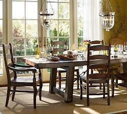 Distressed Wood Dining Tables & Benchwright Dining | Pottery Barn