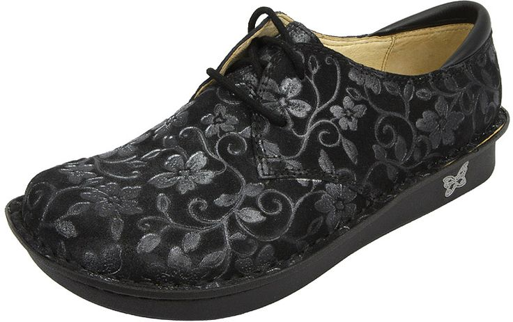 """Bree Stroll by Alegria!  The Bree is a great professional work shoe that offers a slip resistant outsole. Built on the same stable, rocker outsole as the original """"Classic"""" model that is engineered to roll naturally, reducing heel and central metatarsal pressure. The flat bottom makes it easy to walk in while encouraging proper posture and normal gait."""