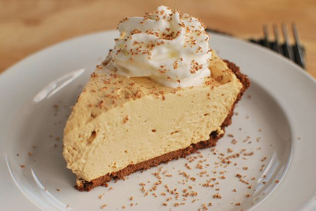 No-Bake Peanut Butter Pie | you are what you eat-sweet | Pinterest