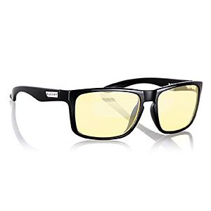ThinkGeek :: Gunnar Computer Glasses **You can custom order these with your prescription since they will NOT fit over your glasses. And they have 5 different styles with different attributes.**