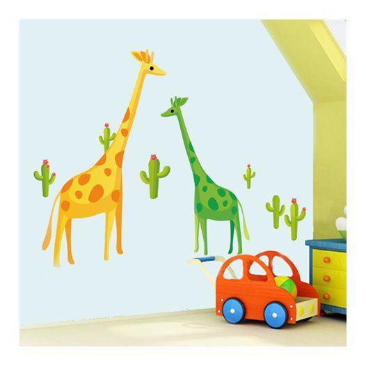 Hemdekor - Väggdekor Girafferna