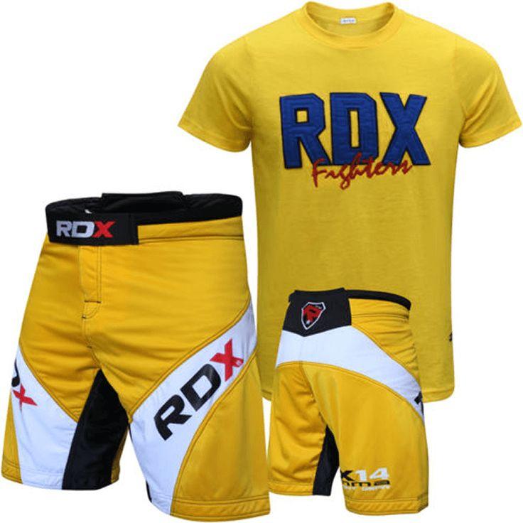 RDX Grappling Shorts with T Shirt