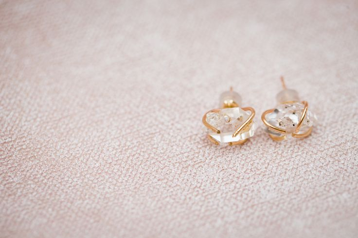 Audrey Studs in Gold Fill - $300 - In stock
