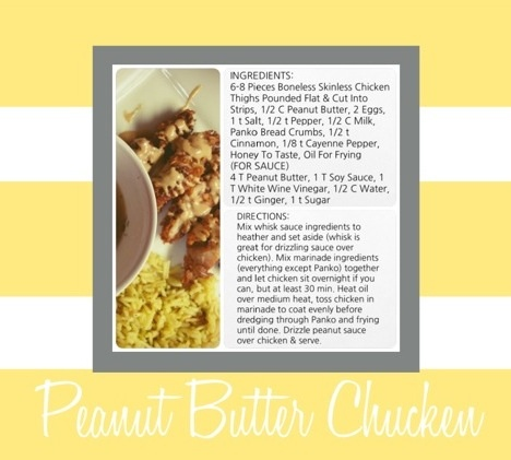 Chicken butter Asian peanut
