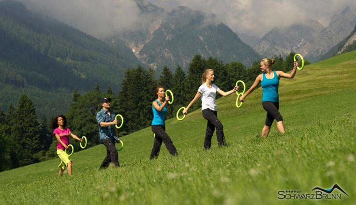 Aktivurlaub #leadingsparesort #wellness #schwarzbrunn #stans #bärenrast #alm #urlaub #daheim #österreich #aktiv