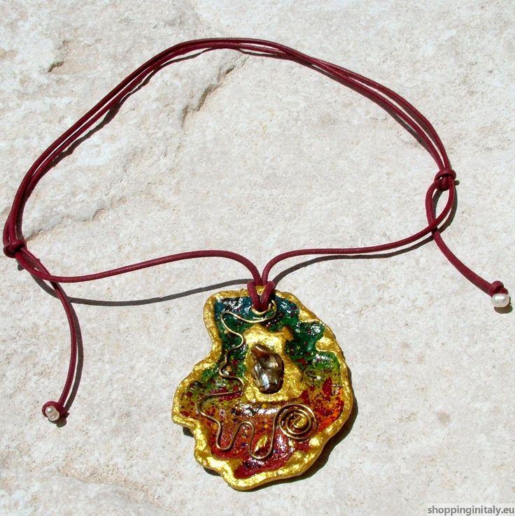 Tara Necklace. Shopping in Italy  Paper jewel by Mariapia Zepponi Gioiello di carta