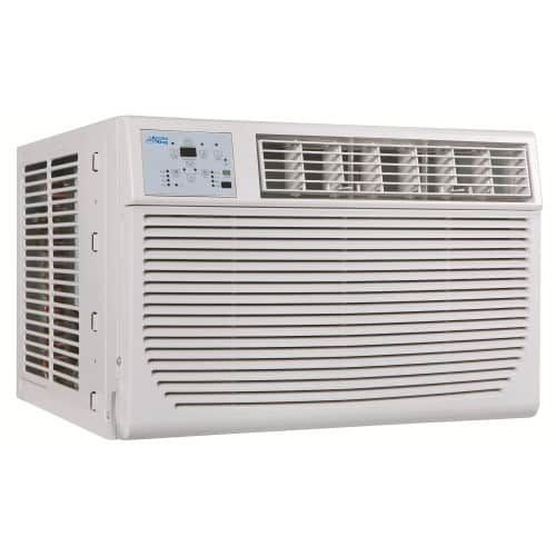 Arctic King AKSO08ER51 8000 BTU 115 Volt Window Air Conditioner with 8000 BTU Heater and Remote Control, Silver steel