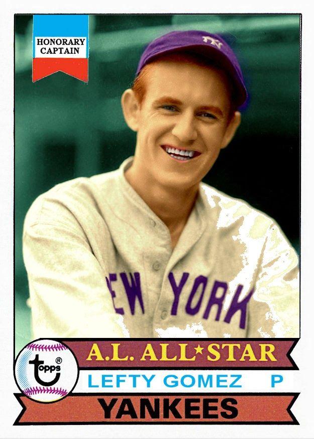 1979 Topps Lefty Gomez All Star, New York Yankees, Baseball Cards That Never Were