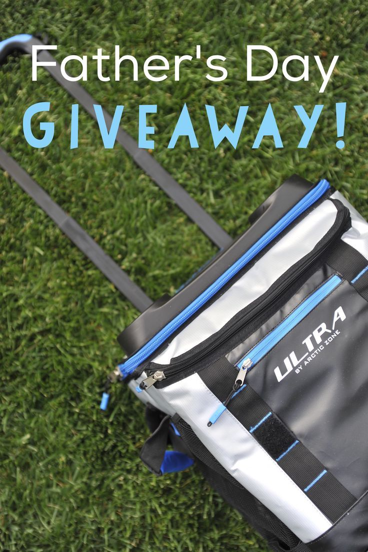 Father's Day is around the corner! Win this 58 Can Rolling Cooler for Dad!