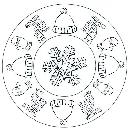 mandala winter