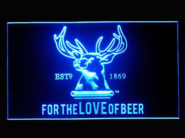 Tooheys New Love of Beer Pub Store Light Sign