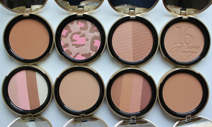 TOO FACED BRONZER GUIDE