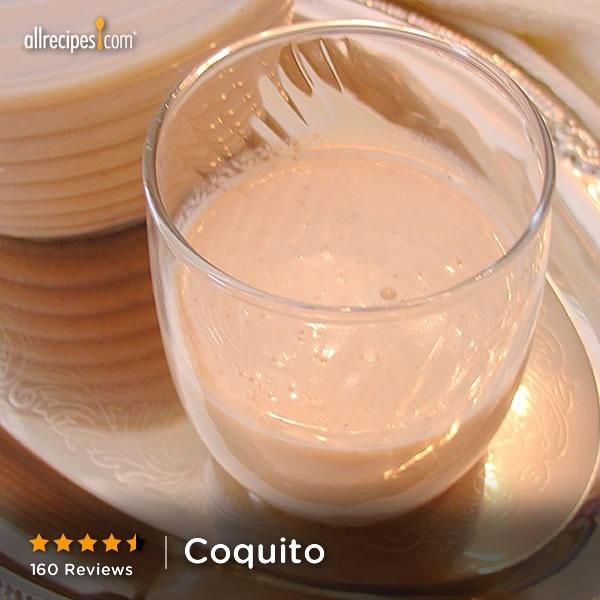 """Creamy coconut eggnog made with spices and white rum. It is always requested at my holiday gatherings."" —Brandy 