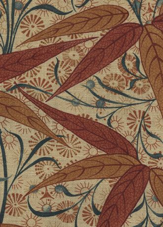 Bamboo fabric frm Morris & Co.