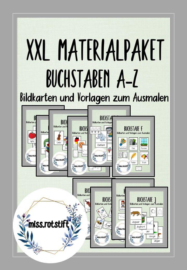 Xxl Materialpaket Alphabetisierung Anlaute Buchstaben Abc Bildkarten Unterrichtsmaterial In Den Fachern Daz Daf Deutsch Fachubergreifendes Kuns Bildkarten Buch Buchstaben Anlaute