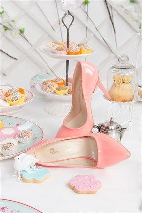 Pembe Topuklu Ayakkabı V0427022908