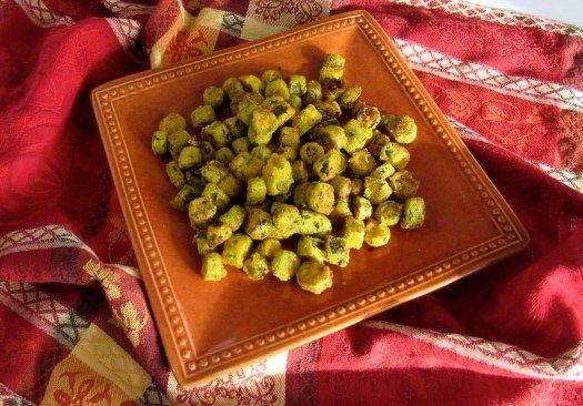 AIP Paleo Cajun Cookbook Fried Okra in Red Palm Oil Recipe by Tara Perillo
