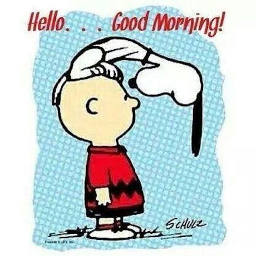 Snoopy Hello Good Morning                                                       …