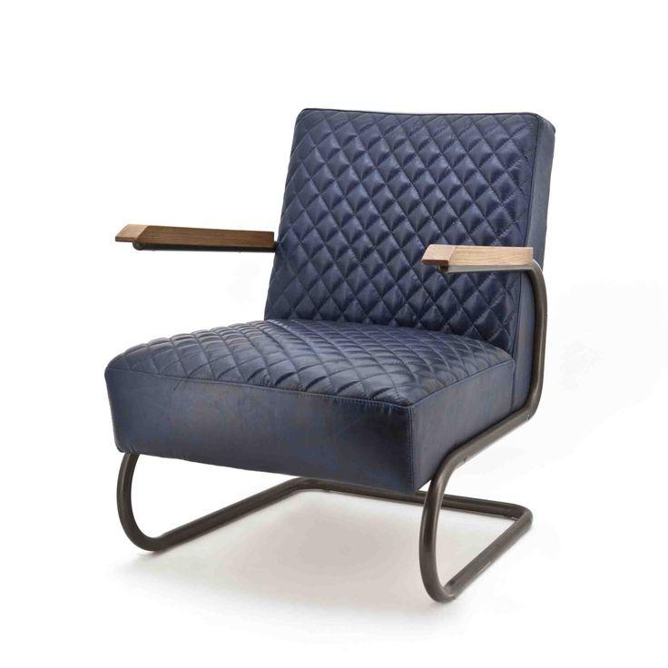 Marc leren fauteuil in Java leder. Verkrijgbaar in vier kleuren namelijk zwart, cognac, blauw en donkerbruin. Bestel nu in onze webshop!