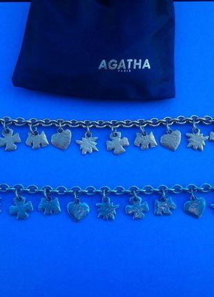 À vendre sur #vintedfrance ! http://www.vinted.fr/accessoires/bracelets-and-joncs/24728961-bracelet-breloques-boheme-agatha-metal-martele-mat
