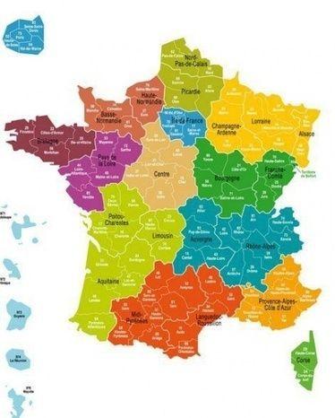 Les nouvelles régions françaises en infographies - Article - FLE