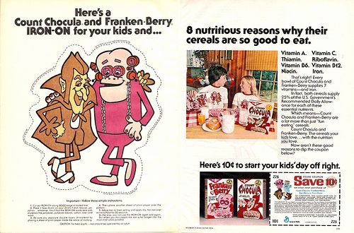 Aww, I still love Count Chocula.  Franken Berry, not so much.