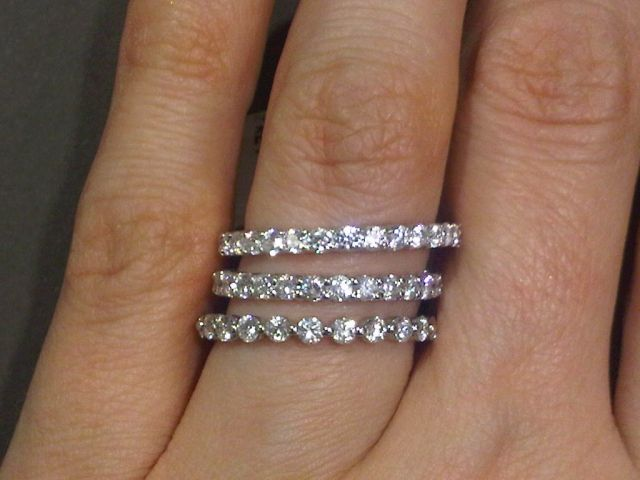 25+ Best Ideas About Pave Wedding Bands On Pinterest