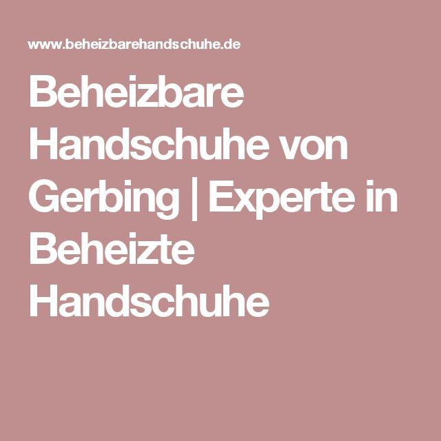 Beheizbare Handschuhe von Gerbing | Experte in Beheizte Handschuhe