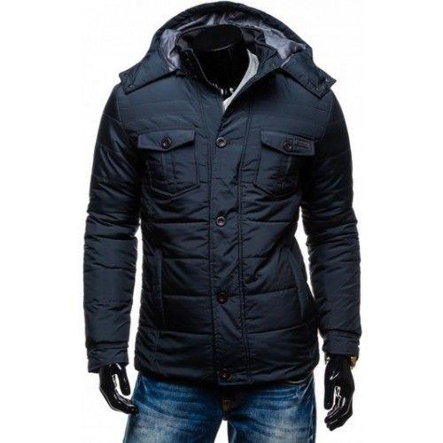 Panska zimna bunda - sportovo-elegantna
