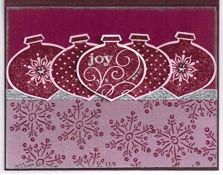 Razzelberry Delightful Decorations Stampin Up set