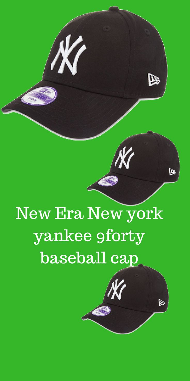 Make sure they stay ahead of the game with New Era's New York Yankees 9FORTY baseball cap. Designed with a curved peak, this structured style is embroidered with the team's NY logo, to show the world where their allegiances lie. New Era 9FORTY baseball capStrapback fastening http://shopstyle.it/l/lkYc
