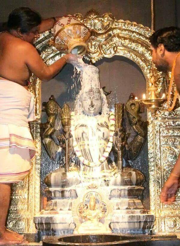 Kamakshi Devi abhisekha