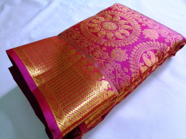 #wedding #silksarees For more @ Murugan Silks,  Arni, tamil nadu, india Call us  @ +91 9444998426 Mail to: murugansilks01@gmail.com