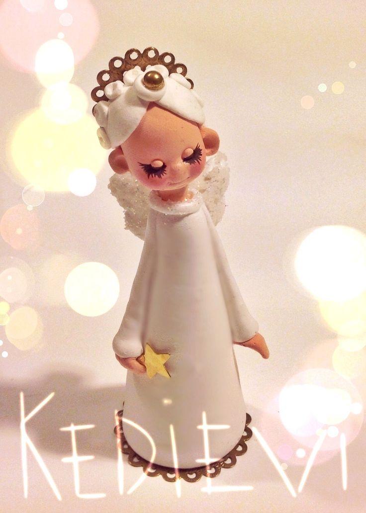 kedievi - el yapımı melek biblo