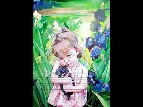 "Vladomir Czech / ""my Darling"", Acriylic on canvas, 2013 years, 90 x 65 cm"