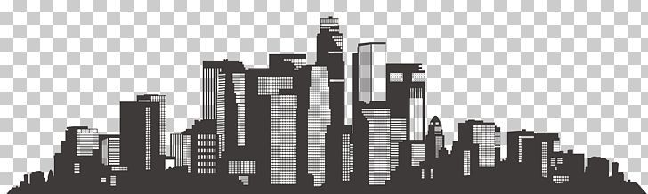 Los Angeles Skyline Silhouette Scalable Graphics Png Angle Banner Painted Sketch Banner Vector Black In 2020 Los Angeles Skyline Skyline Silhouette Banner Vector