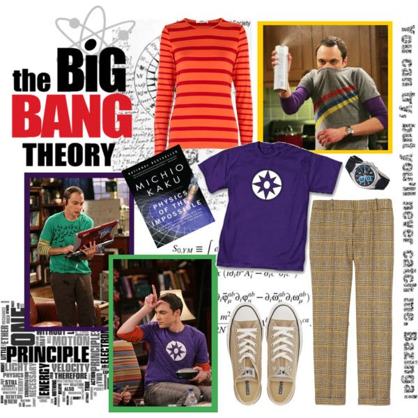 """""""Do-It-Yourself Halloween Costumes: Dr. Sheldon Cooper [The Big Bang Theory]"""" by ketsy on Polyvore"""
