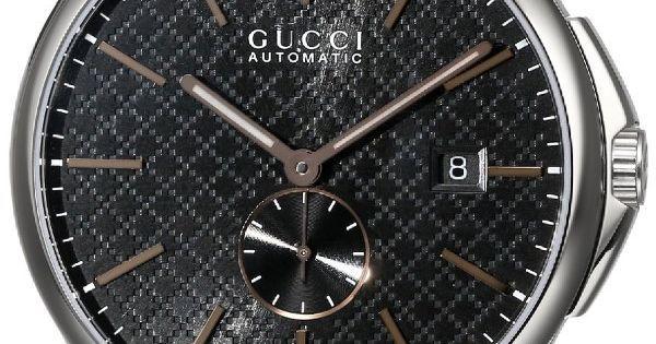 "Men watches | Gucci Men's YA126312 ""G-Timeless"" Collection Swiss Automatic Watch Top men watches | Watches | Pinterest | Top Mens Watches, Automatic Watch and …"