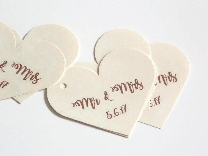 17 Best Ideas About Wedding Favor Tags On Pinterest