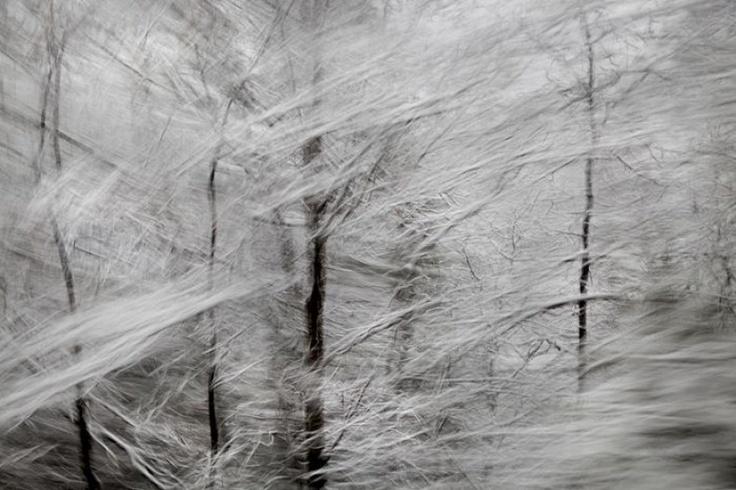 """Διεθνή Βραβεία Φωτογραφίας 2012: """"Miles Unlimited - Storm in Yosemite"""" , 2ο βραβείο στην κατηγορία Φύση-εποχές, από την Marina Chen"""