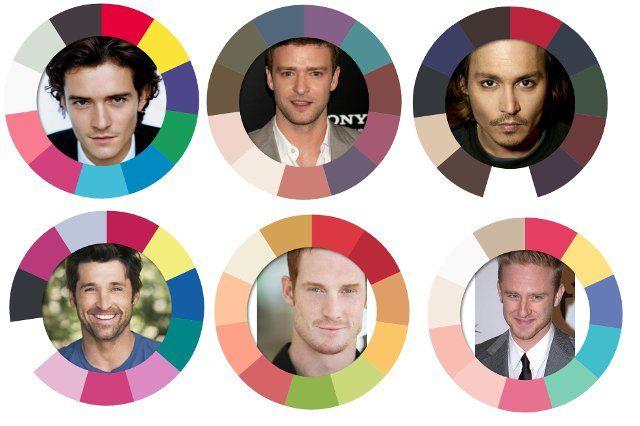 Тем временем продолжается блок статей по цвету для мужчин. И я возвращалась к тому, как можно определить ведущую характеристику…