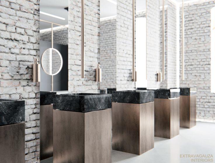 78 ideas about public bathrooms on pinterest restaurant - Interior design for washroom ...