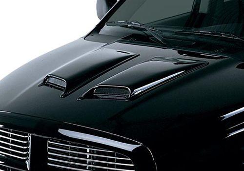 Chevy Silverado Accessory Lund Eclipse Large Pair Hood
