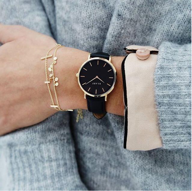 KLARF Brand Women Stainless Watch